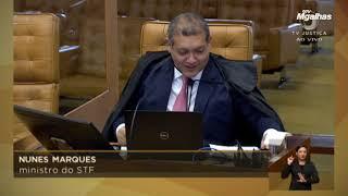 Primeira manifestação de Nunes Marques no plenário do STF é pedido de vista