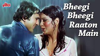 Bheegi Bheegi Raaton Main Song | Kishore Kumar and Lata Mangeshkar Hit Song | Hindi Romantic Song