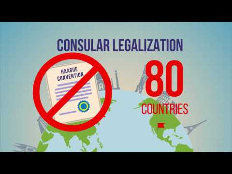 What is consular legalization?