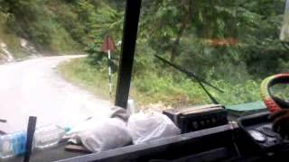Most Dangerous highway clip at Taplejung, Nepal