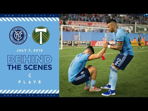 BEHIND THE SCENES | NYCFC vs. Portland Timbers | 07.07.19