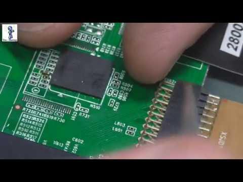 ТВ ЖК DNS K47DS712 - перезагружается, висит на заставке