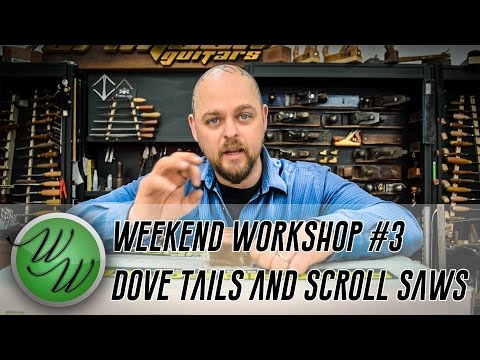 Copper Dove Tails and Scroll Saws - Ben's Weekend Workshop #3