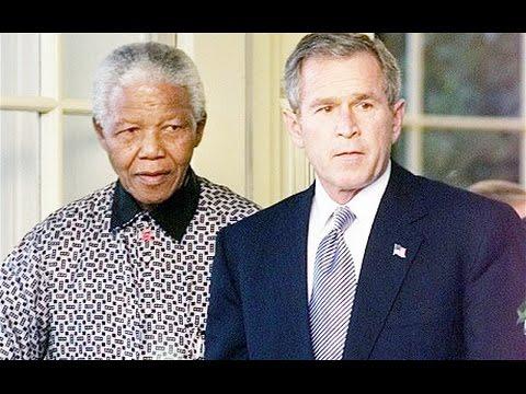 Nelson Mandela verurteilt die Politik der USA (Januar 2003)  - immer noch aktuell