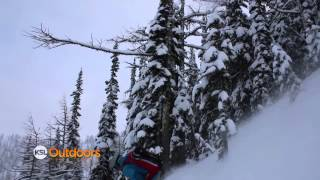 Backcountry Skiing at Whitewater Ski Resort, Canada