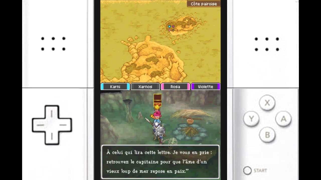 carte dragon quest 9 Dragon Quest IX   Let's play FR   Comment obtenir la carte de