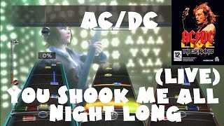 AC/DC - You Shook Me All Night Long (Live) - AC/DC Live: Rock Band Track Pack XFB (REMOVED AUDIO)