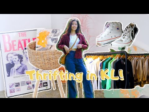 Finding The Best Thrift Store In KL!
