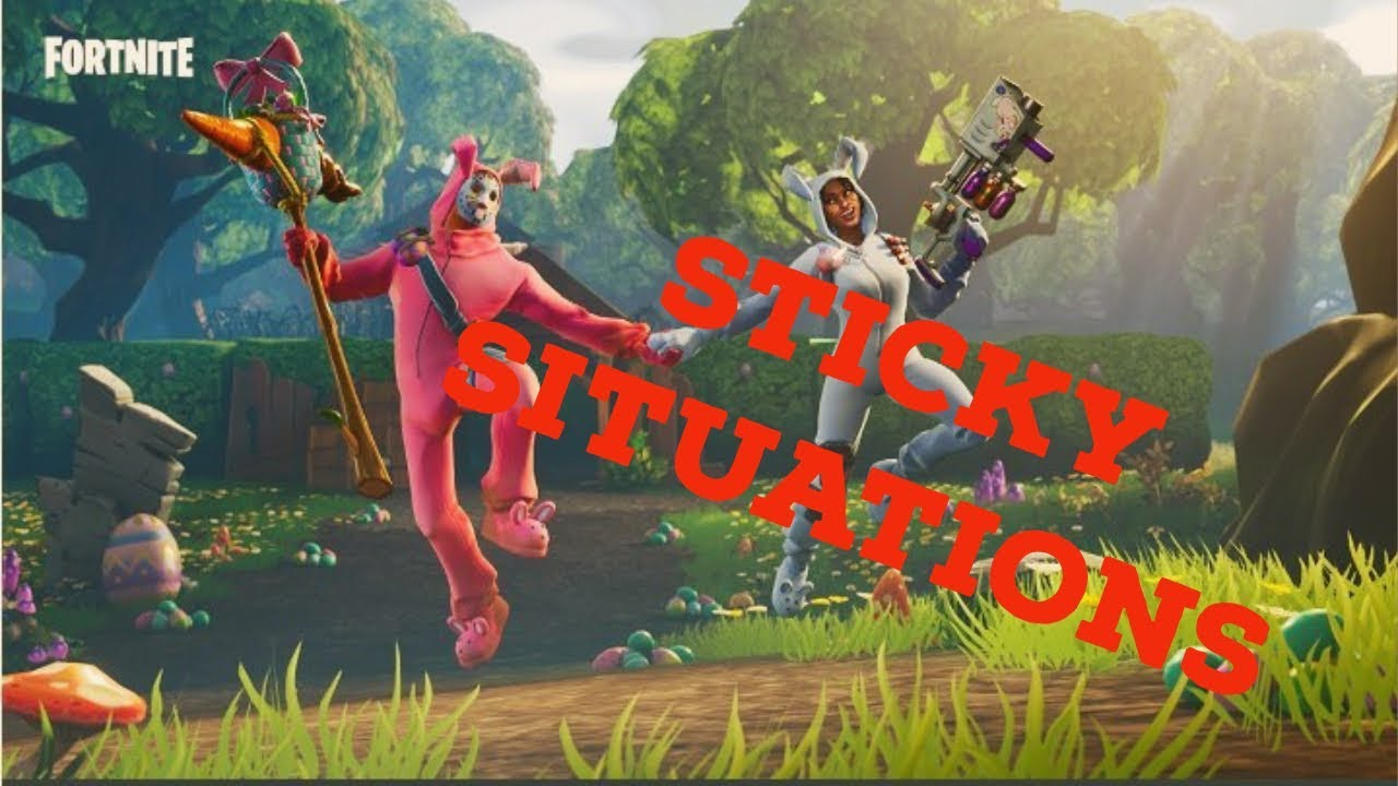 Sticky Situations | Fortnite Stream Highlights #1 | Fortnite Battle Royale Gameplay!