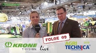 Halbzeit auf der Agritechnica 2019 – das sagt Bernard Krone
