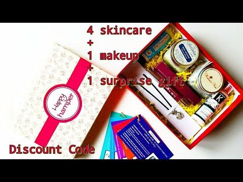 Happy Hamper September 2017 | Honest Review | Makeup & Skincare | Organic | Discount Code