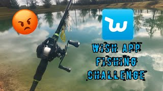Wish App BASS Fishing Challenge SURPRISE CATCH