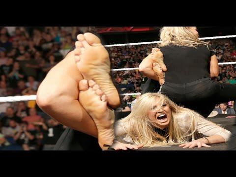 Charlotte Flair/Ashley Fliehr Feet & Soles (HD) - YouTube