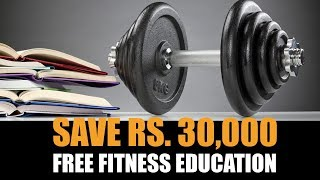 Saver Rs. 30k- Free fitness education