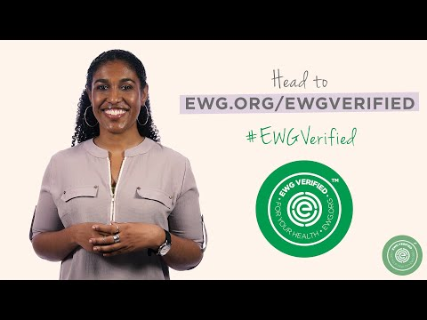 EWG VERIFIED™ A Mark You Can Trust