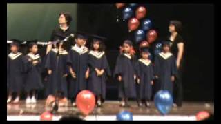 Samantha  Graduation March from Kinder 2