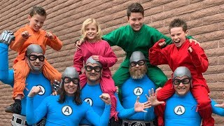 Ninja Kidz tv and Aquabats (Behind The Scenes)