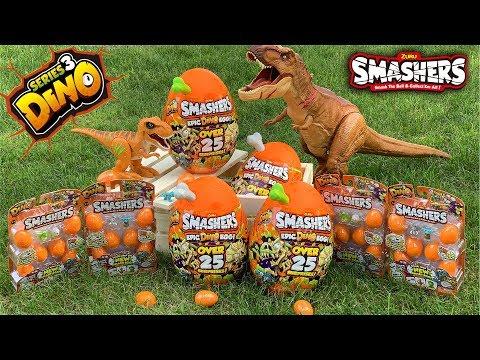 SMASHERS Series 3 Epic Dino Egg EPIC UNBOXING!
