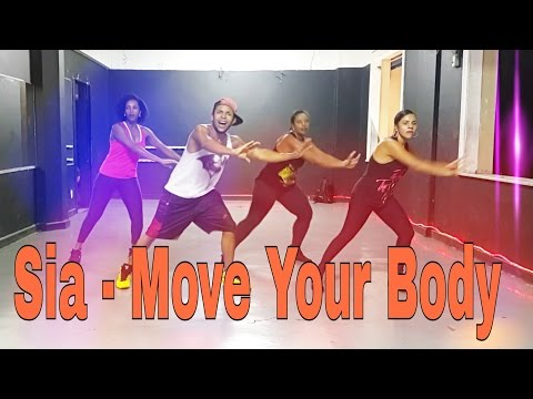 Sia - Move Your Body | Coreografia | Choreography fitness Zumba cardio