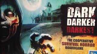 Настольная Игра Темно Темнее Темного (Dark Darker Darkest) Часть 1. Расклад игры