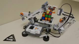 LEGO Mindstorms Nxt 2.0 MindCuber + Building Instructions And Program