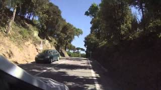 IronMan 70.3 Barcelona 2015 Cycle Route