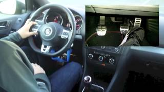 How to drive a vehicle with a manual transmission (hill start,rev match, starting the car) thumbnail