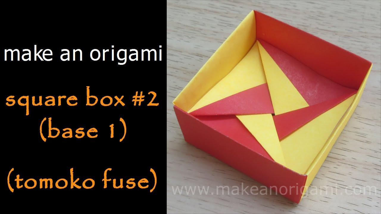 origami box tomoko fuse [ 1280 x 720 Pixel ]