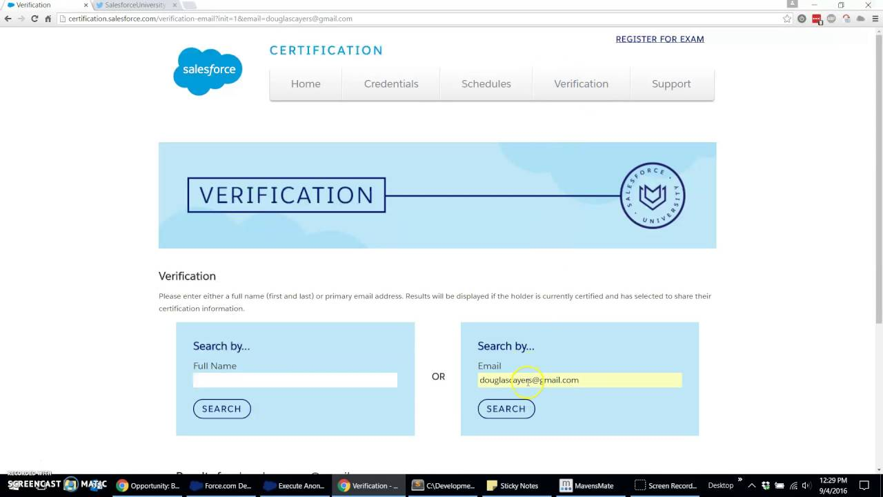 How To Download Salesforce University Certification Badges Youtube