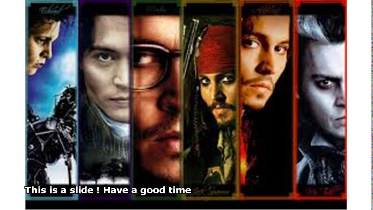 Johnny Depp Characters Youtube