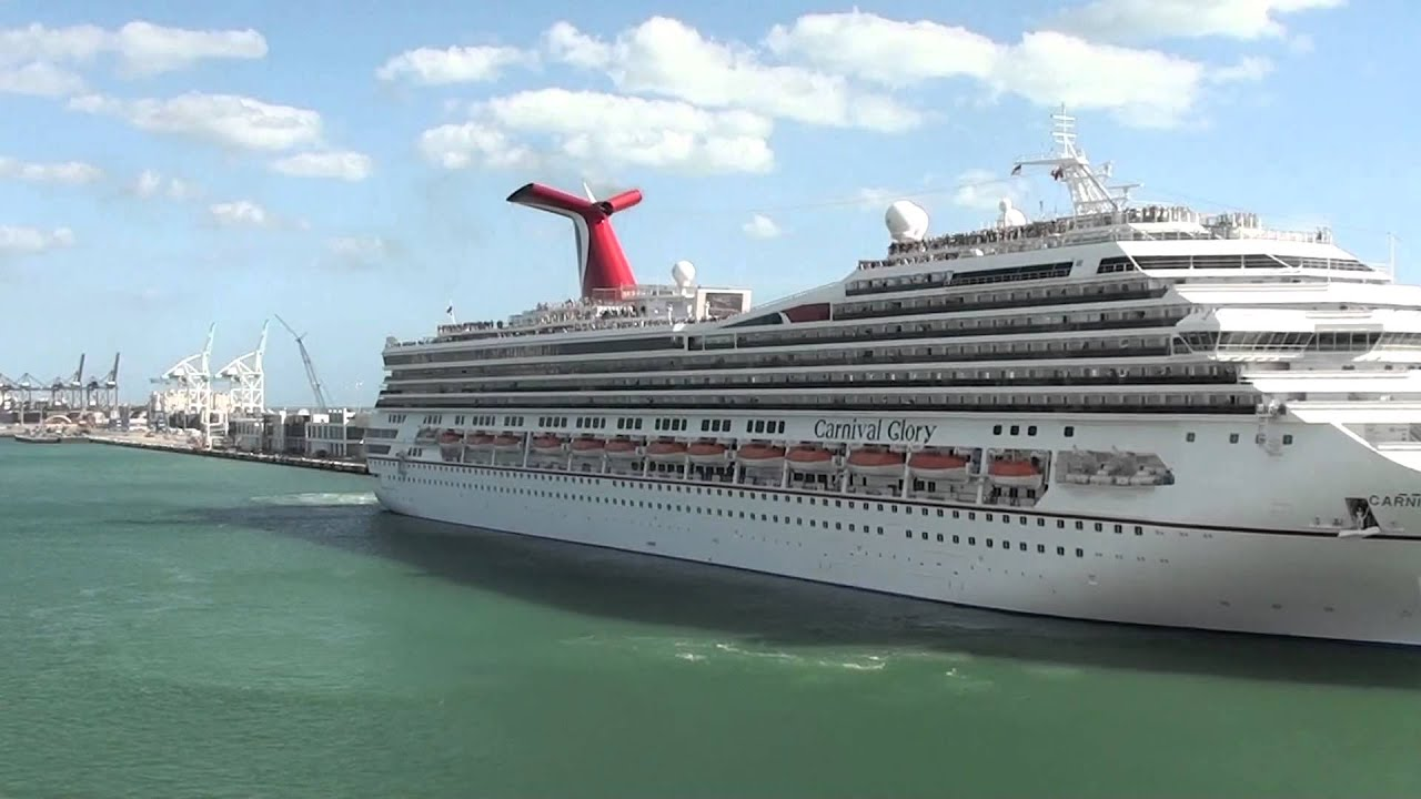 Cruise ship horn Glory HD - YouTube