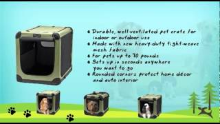 Indoor /outdoor Pet Homes-noztonoz Sof-krate Indoor/outdoor Pet Home Review