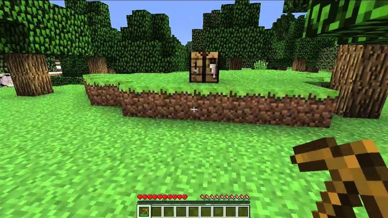 Minecratf pero solo puedo utilizar herramientas de madera