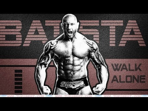 WWE Dave Batista ● WELCOME BACK ● (HD...