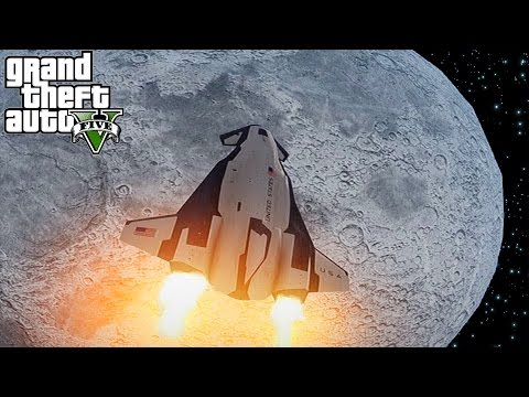 HOW TO GET TO THE MOON IN GTA 5!! (GTA 5)