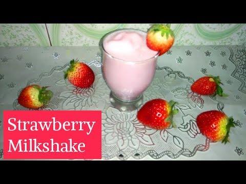 Strawberry Milkshake | Blueberry Smoothie | Quick & Easy Recipe