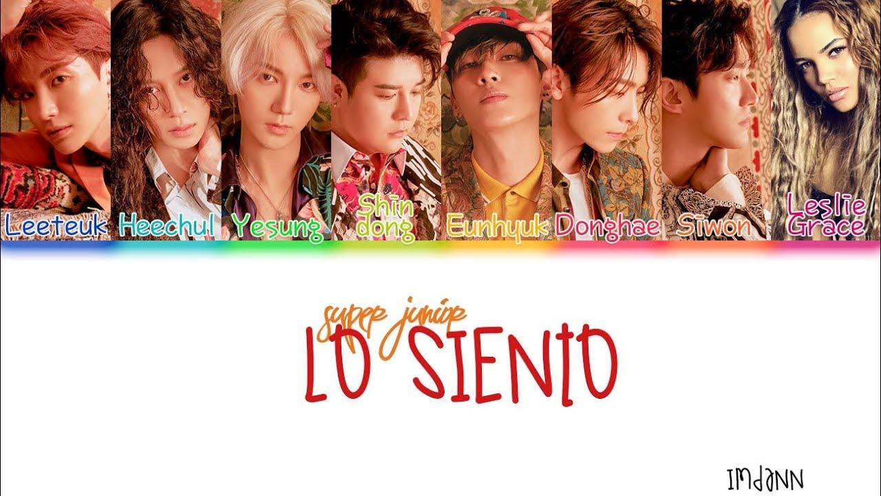 Super Junior Lo Siento