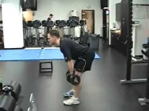 2 Arm/2 Leg Dumbbell S.L.D.L. - YouTube