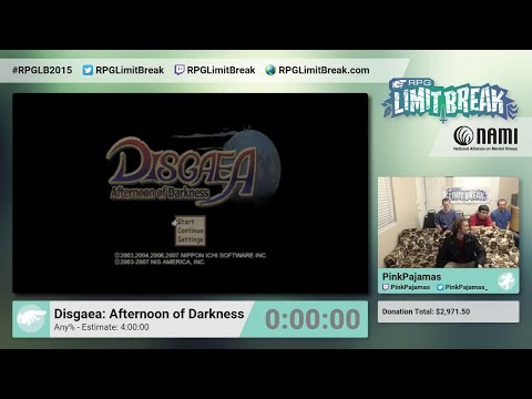Disgaea: Afternoon of Darkness by PinkPajamas RPG Limit Break 2015 Part 4