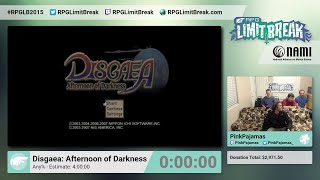 Disgaea: Afternoon of Darkness by PinkPajamas (RPG Limit Break 2015 Part 4)