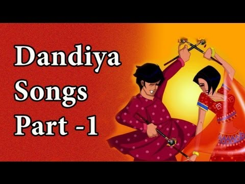 Dandiya Songs Part 1 (HD) - Govinda - Juhi Chawla - Aamir Khan - Bollywood Garba Dandiya Songs