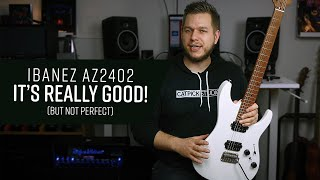 Ibanez AZ2402-PWF Prestige - In-depth Demo & Review