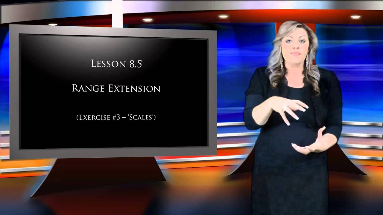 singing lessons lesson 8 vocal range extension youtube. Black Bedroom Furniture Sets. Home Design Ideas