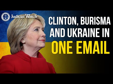 Obama State Dept Emails Show Ukraine Prosecutor General Connected to Clinton's Presidential Campaign