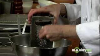 Fried Green Tomatoes - Making Ricotta Salata