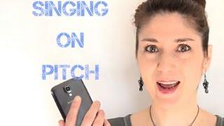 Freya's Singing Tips - Singing on pitch