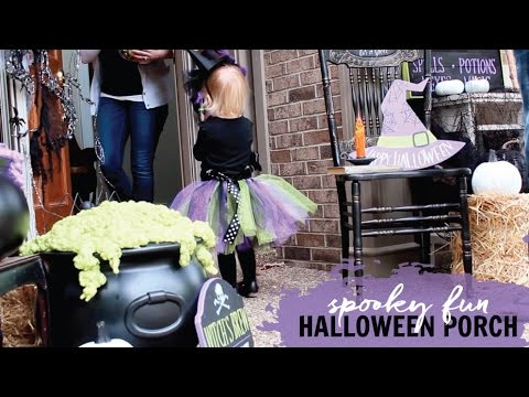 Porch Decorating Ideas for Halloween