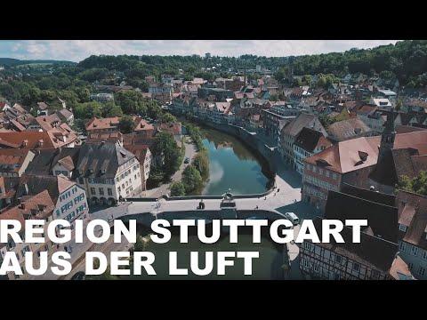 Region Stuttgart aus der Luft