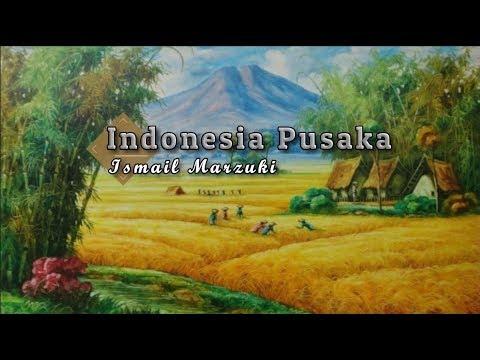 [Karaoke] ♬ Ismail Marzuki - Indonesia Pusaka ♬ +Lirik Lagu [BRASS]