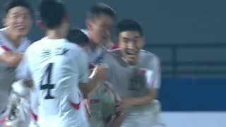 DPR Korea 1-1 Tajikistan (AFC U16 Malaysia 2018 : Quarter-finals)